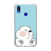 We Bare Bears Ice Bear 04 Casing Vivo Y91 Anti Crack Anticrack Case HP