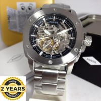 FOSSIL ME3081 AUTOMATIC SILVER 45MM ORIGINAL