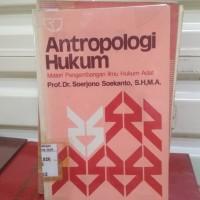 Buku Original Antropologi Hukum