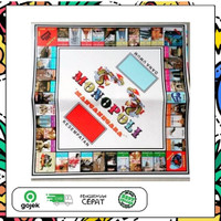 TERLARIS! Mainan Anak Monopoli MANCA NEGARA Murah Meriah
