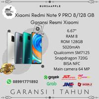 Xiaomi Redmi Note 9 Pro 8/128 RAM 8GB ROM 128GB Garansi Resmi Xiaomi