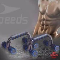 Push Up Stand Bar Alat Bantu Push Up Olahraga Fitness Equipment Pegang