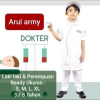 baju dokter anak kostum dokter pocil seragam dokter cilik termurah