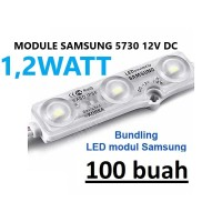 Lampu LED MODULE SAMSUNG 12V LED MODUL 1,2W 3 MATA IP68 1,2 WATT