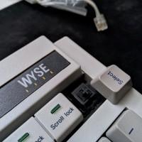 Mechanical Keyboard Jadul Wyse PCE-840358-01 Vintage Cherry MX Black