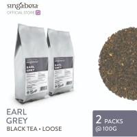 Singabera Earl Grey - Black Tea - 2 packs @ 100g (Loose tea)