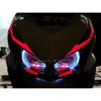 Headlamp Vario 150 Atau 125 Projie AES B1 Lensa Ultimate FULLSET PNP