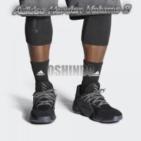 Sepatu Basket Adidas Harden Vol 4 GCA Triple Black Asli Original