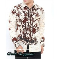 Baju Batik Seragam Motif Sogan Jogja Original Batik Rengganis - 18