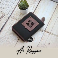 TERLARIS Alquran Madina Arrayyan For Men Al Quran Zipper Ar Rayyan