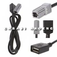 Kabel USB Toyota Avanza Innova Yaris Corolla Camry Audio Aux to Usb