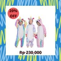 Pajamas Unicorn Anak Ala Justice Nyaman Piyama Lembut
