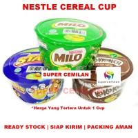 Nestle Cereal Cup | Sereal Koko Krunch | Milo | Honey Stars | Praktis