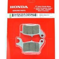 Dispad Kampas rem depan Honda Beat FI asli AHM Termurah!!