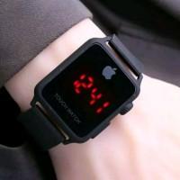 Jam tangan iPhone led rubber pria dan wanita
