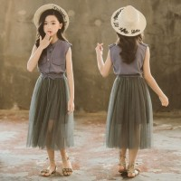 Baju Setelan Tutu Anak Perempuan 4 - 9 Tahun Import . PMI-2007-A