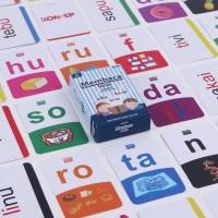 FLASH CARD Anak Mainan Edukasi 6 Tahun Flashcard Belajar Kata Seri 2