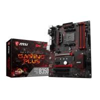 MSI B350 GAMING PLUS AMD B350 AM4 DDR4 ATX Motherboard