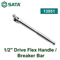 GAGANG SOK 13951 1/2 DR. FLEX HANDLE/BREAKER BAR 432MM SATA
