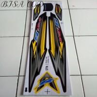 Stiker Decal Striping Variasi Motor Supra Fit New Wave 100S 05