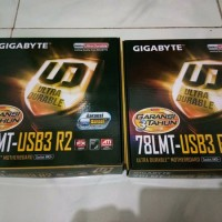 Motherboard Gigabyte GA-78LMT USB3 Socket AM3 top stuff