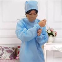 Baju medis APD Gown APD Long Gown Gaun Gamis Spunbond 60-100 gsm