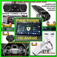 Paket Audio mobil Head unit Android. double din. single din. android