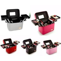 Tseloop BOX MAKE UP/Kotak Kosmetik/Beauty Case/Tas Kosmetik/waterproof