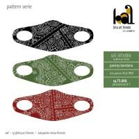 Paisley Bandana - Masker Pattern Serie