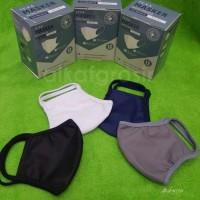 TEXA Masker kain 2 lapis anti bacterial   anti air   bisa diisi filter