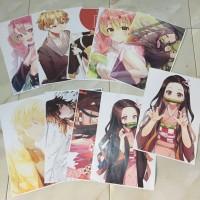 poster anime custom desain bebas 150gr full colour uk A3+ (31cmx47cm)