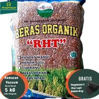 5Kg Beras Merah Organik Premium RHT Bersertifikat (utk Diet, Diabet )