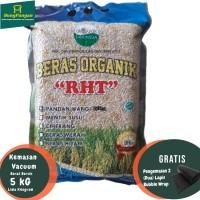 5Kg Beras Coklat Organik Premium / Brown RIce RHT Bersertifikat