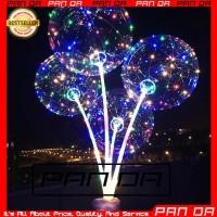 Balon LED Lampu Rainbow Warna Warni Tumblr Pesta Anak