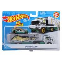 Hot Wheels Super Rigs Bank Roller Hauler Silver