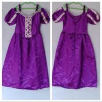 Baju Kostum Princess Rapunzel 6-7 Tahun