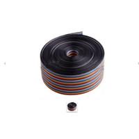 Rainbow cable pelangi kabel pita 40p 40 pin pitch 1.27mm per meter