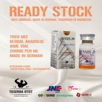 Trenbolone Mix 200 mg 10 ml vial global anabolic original termurah