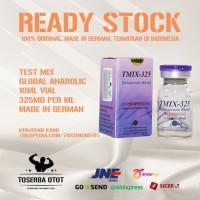 Testosterone mix 325 mg 10 ml vial global anabolic original termurah