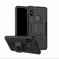 ASUS ZENFONE MAX PRO M2 ZB631KL CASE RUGGED ARMOR STANDING BLACK