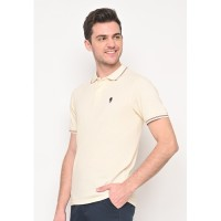 Skelly Original Polo Shirt Pria Guardian Classic Polo W1 White
