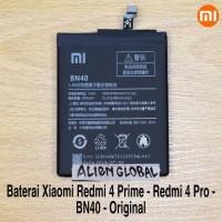 Battery Baterai Batre Xiaomi Redmi 4 PRO/PRIME BN40 Xiomi Bn 40 Origin