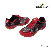Sepatu badminton hi qua dura max red