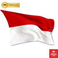 Bendera Indonesia Merah Putih 120 cm x 80 cm (PREMIUM)