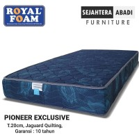 Kasur Busa Royal foam type Pioneer Exclusive Tebal 20 cm