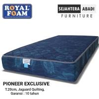 Kasur Busa Royal foam type Pioneer Exclusive Tebal 20 cm