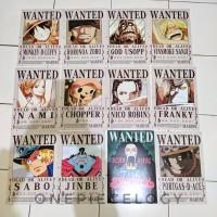 Poster Bounty Mugiwara + Ace dan Sabo - Anime One Piece