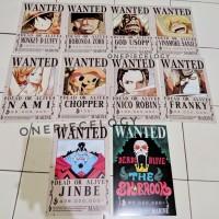 Poster Bounty Mugiwara (With JINBE) - Anime One Piece