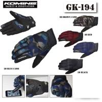Sarung Tangan Gloves Komine GK 194 Full Finger Touch Screen