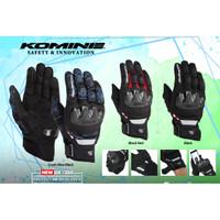Sarung Tangan Gloves Komine GK 220 Full Finger Touch Screen